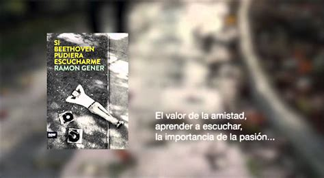 libro beethoven for a later si beethoven pudiera escucharme ramon gener now books teaser youtube