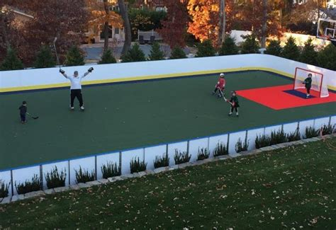 backyard ice rinks for sale synthetic ice basement and backyard rink kits hockey