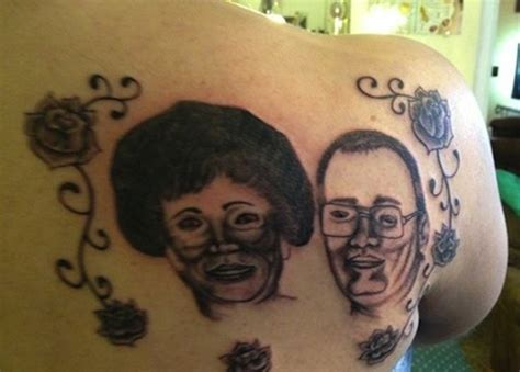 scrotum tattoo bad tattoos 15 more of the worst in terrible team jimmy joe