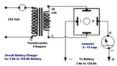 car battery charger schematic diagram wiring diagram and