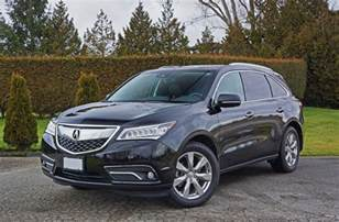 2016 acura mdx sh awd elite road test review carcostcanada