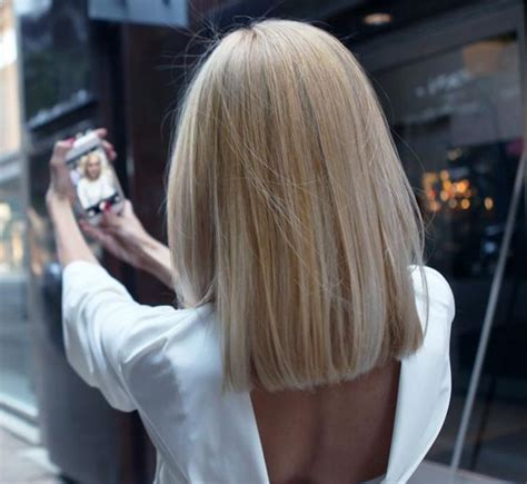 blonde lob cut definition how to grown out ombre transformed into an edgy blonde