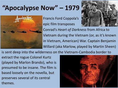 heart of darkness vs apocalypse now themes ppt heart of darkness joseph conrad 1902 powerpoint