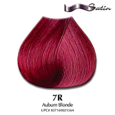 satin hair color satin hair color 7r auburn hair coloring satin