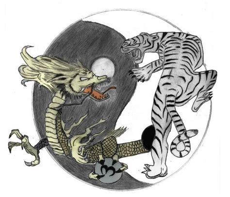 yin yang dragon tattoo yin yang tiger meaning search