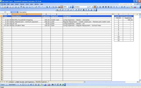 bookkeeping excel spreadsheets free download sole trader