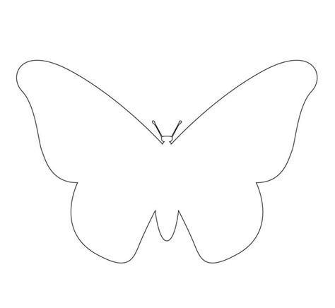 free printable butterfly template template update234 com