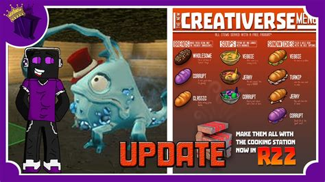 creativerse codes creativerse update r22 youtube