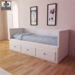 Ikea Guest Bed Review Ikea Hemnes Day Bed 3d Model Hum3d