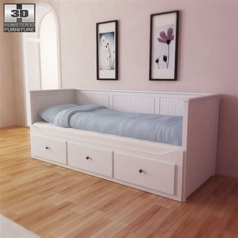 hemnes day bed ikea hemnes day bed 3d model humster3d