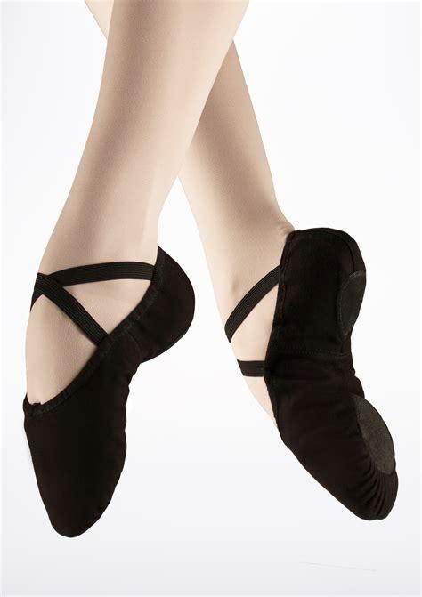10 Best Ballet Shoes by Capezio Pro Split Sole Canvas Ballet Shoe Black Move