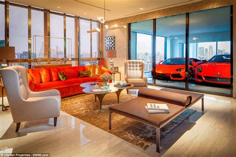 super luxury singapore apartment with in room car parking singapore 191 s supercar owners can now keep a close eye on