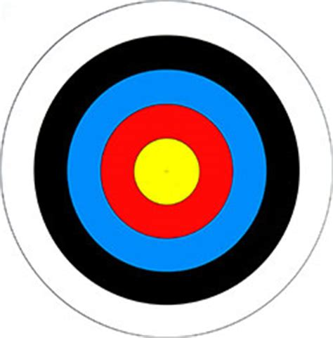printable targets for archery archery targets printable clipart best