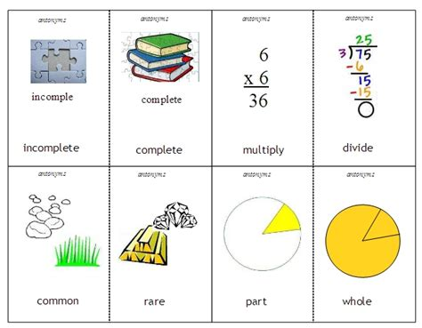 Brief Opposite Word Antonyms And Synonyms Word Lists Activities And Worksheets Free Language Stuff
