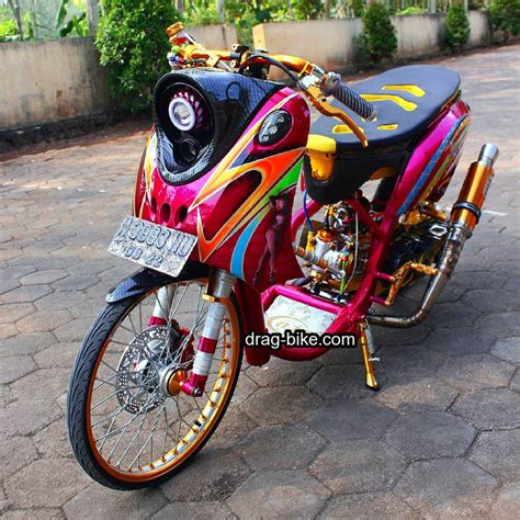 Motor Gambar by Foto Modifikasi Motor Fino Modifikasi Yamah Nmax