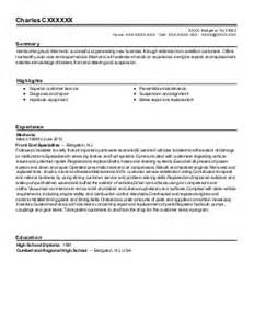 Fleet Mechanic Cover Letter by Fleet Mechanic Roustabout Resume Exle Mitchell S Field Service Ponderay Idaho