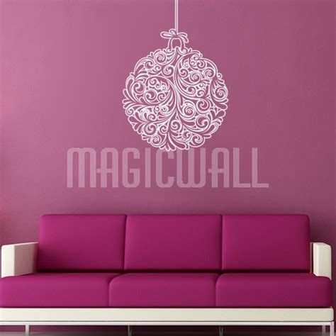 Holiday Wall Stickers wall stickers holiday ornaments christmas wall