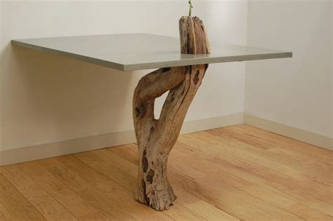 driftwood kitchen table concrete driftwood table modern dining tables miami by miano design co