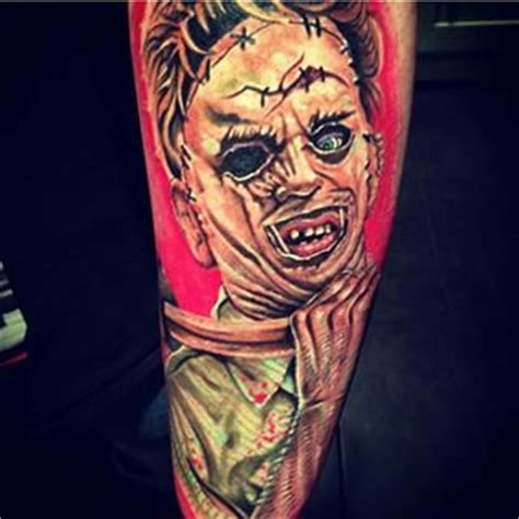 leatherface texas chainsaw massacre tattoos pinterest