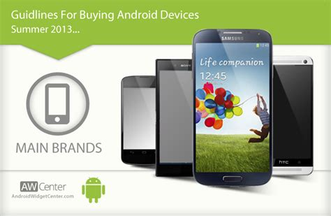 android brands tips for buying android phone tablet brands aw center