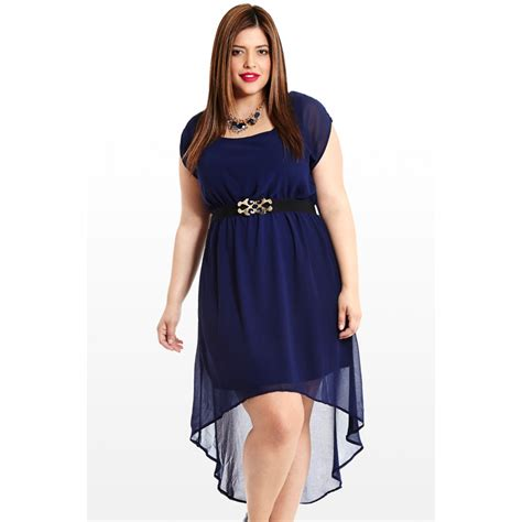 New High Low Fit Dress plus size high low dresses dressed up