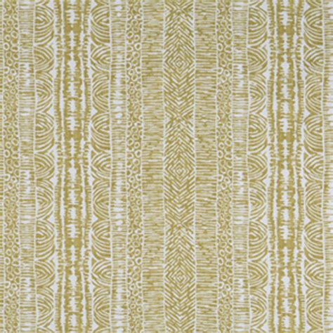 Drapes Fabric global lines gold contemporary drapery fabric by
