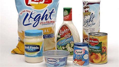 alimentos bajos en grasas 7 alimentos no saludables que debes limitarte