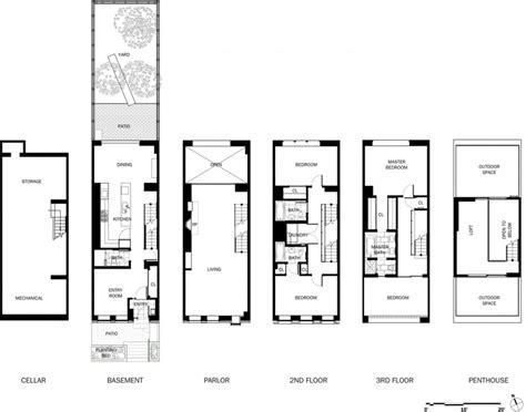 floor plans fors plan amazing townhouse