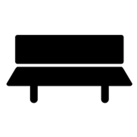 park bench icon bench icons noun project