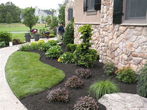 New Home Backyard Landscaping by Landscape Pictures Before After