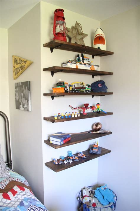 kids room shelves diy floating lego shelves wood floating shelves wood