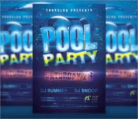 pool invite template pool invitation template 7 premium