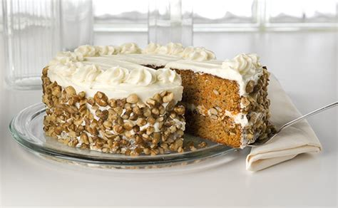 black walnut carrot cake with cream cheese frosting