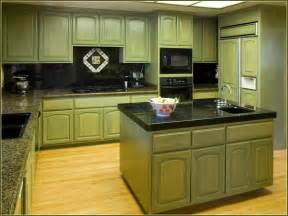 Kitchen Cabinets Green Best Green Paint For Kitchen Cabinets Home Design Ideas