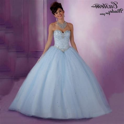 light blue and white quinceanera dresses www imgkid com