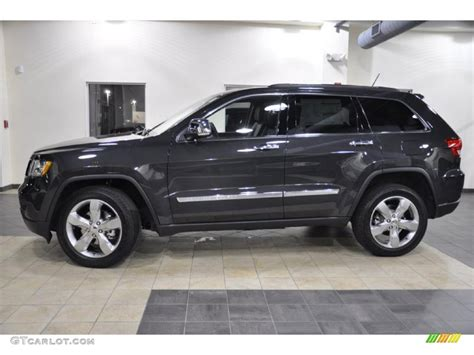 2011 Dark Charcoal Pearl Jeep Grand Cherokee Limited