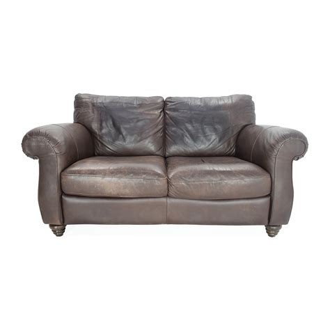 brown leather loveseat sofa brown leather loveseats home ideas