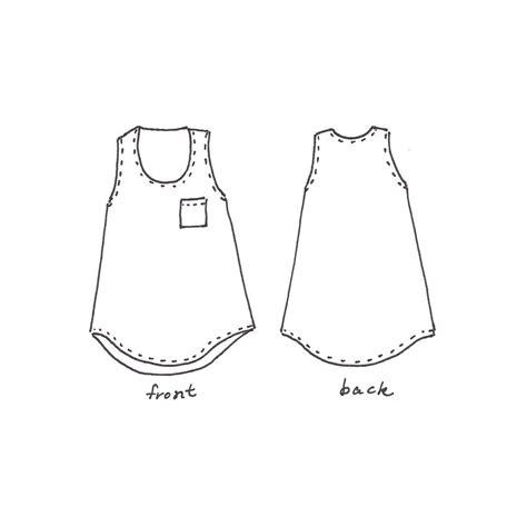 sewing pattern tank top women s tank top dress sewing pattern pdf wiksten