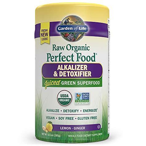 garden of vegan green superfood powder organic