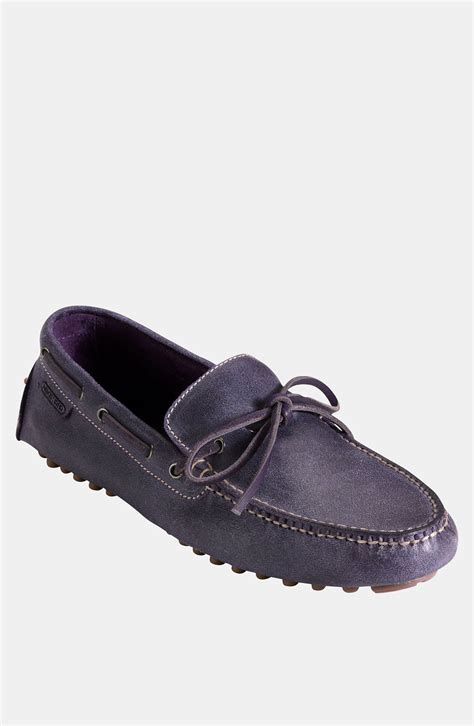 cole haan driving shoes cole haan air grant driving shoe in purple for