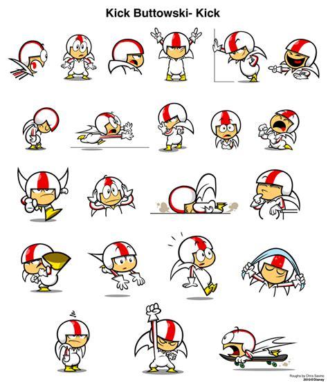 dibujos para colorear kid butowski kick buttowski 233 xd