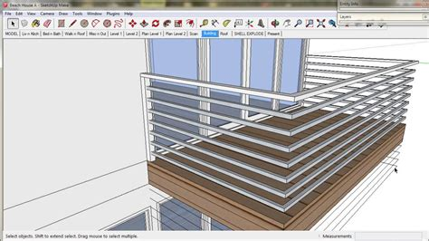 3d home design by livecad tutorials 10 balustrade youtube 10 handrails and balustrades a trebld and sketchup