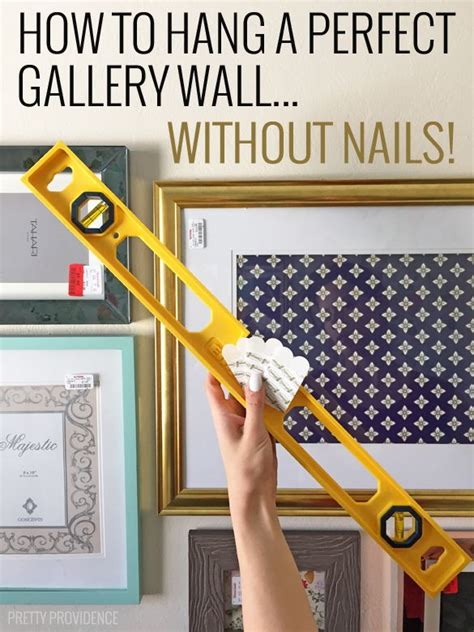 how to hang photo frames on wall without nails 25 best ideas about hanging pictures without nails on