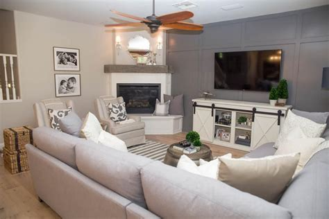 large sectional   chairs give  cozy living