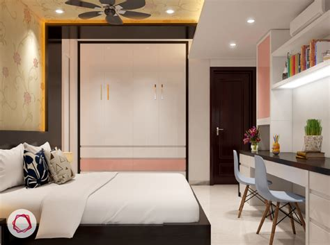 Simple Wardrobe Designs For Small Bedroom by 5 Wardrobe Designs For Small Indian Bedrooms