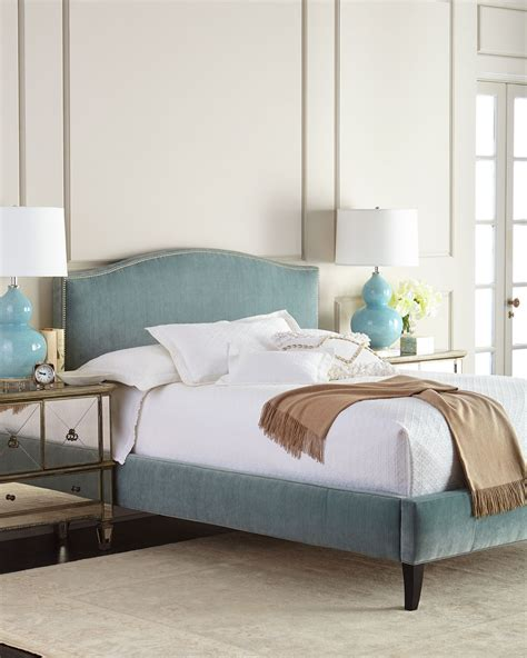 turquoise bed frame mallory bed everything turquoise