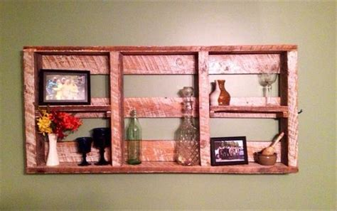 pallets hanging bookshelf ideas pallet ideas recycled 10 different wooden pallet amazing shelves views