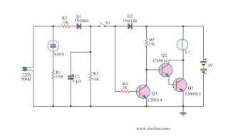 mini emergency lighting electronic projects circuits