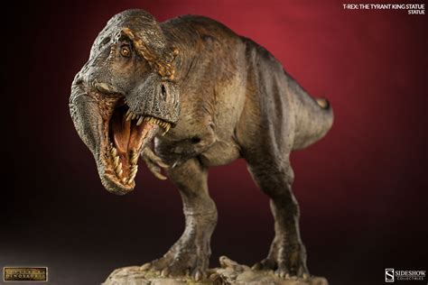 rex the dinosauria t rex the tyrant king statue by sideshow collec sideshow collectibles