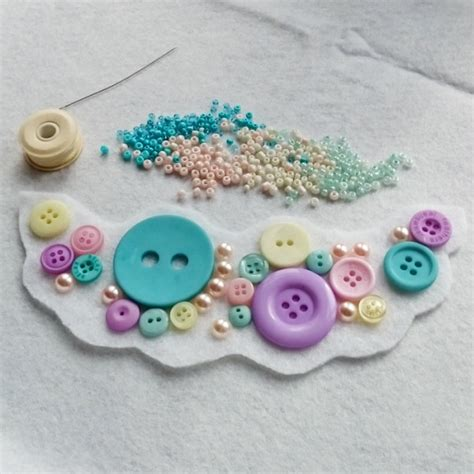 bead and button how to make a bead embroidery statement necklace